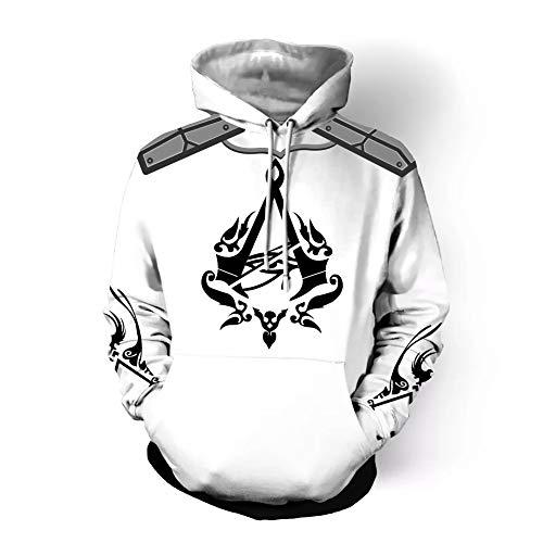 Sudaderas Unisex Capucha 3d S Con Camiseta Impresión 3xl Creed Assassin's Lzh3d De Béisbol Cosplay Sudadera 4WFHdU4