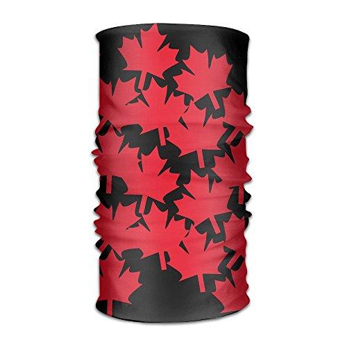 HEHE TAN Kerchief Canada Maple Flag Multifunctional Bandanas For Men Women Sweatband Elastic Turban Headwear - Gatsby Canada