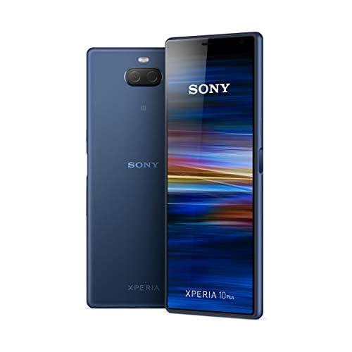 chollos oferta descuentos barato Sony Xperia 10 Plus Smartphone de 6 5 Full HD 21 9 CinemaWide Octa Core de 1 8 Ghz 4 GB de RAM 64 GB de ROM cámara dual de 12 8 MP Android P Dual Sim Color Azul Versión española
