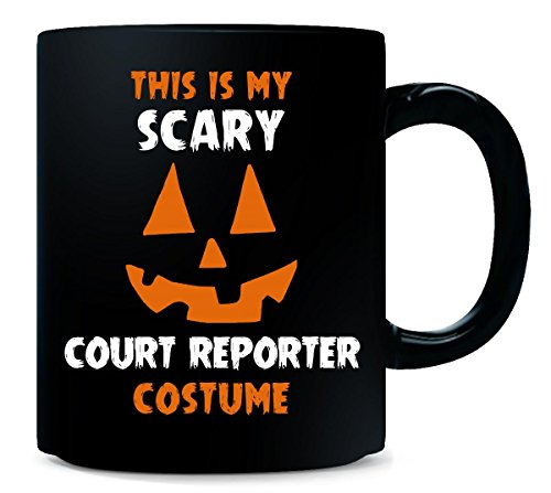 This Is My Scary Court Reporter Costume Halloween Gift - Mug