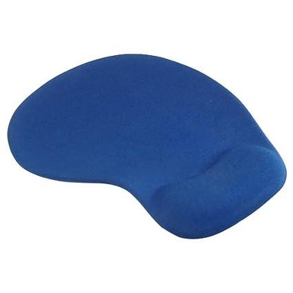 SODIAL(R) Azul Suave Comodo Silicona Gel Alfombrilla de Raton con Almohadilla para Muneca