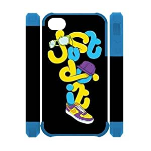 Custom Your Own Just Do It iPhone 4/4S Case , personalised Just Do It Iphone 4 Cover