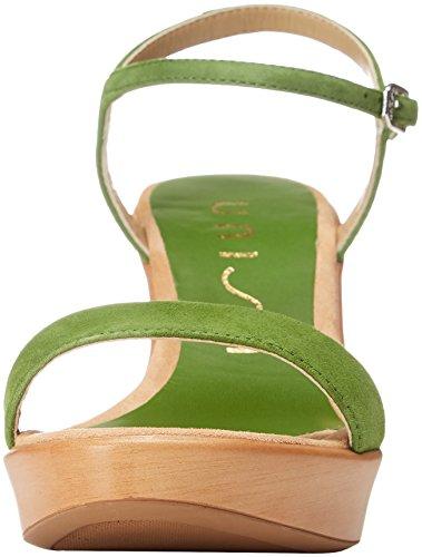Unisa Signore Rita_18_ks Sandali Peeptoe Verde (verde)