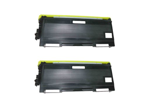 HI-VISION 2 Pack Compatible Brother TN350 TN-350 Black Laser Toner Cartridge Replacement for Brother MFC-7225N, HL-2040, DCP-7020, 7220,7420, 2070N, IntelliFax-2820, 7820N, 2910, 2920 printer