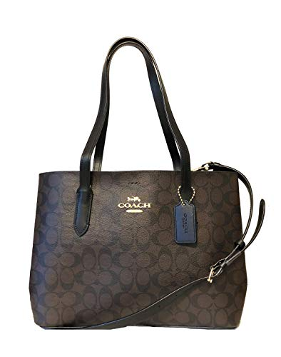 COACH Double Face Leather Avenue Carryall