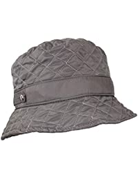 d11e6343c8e Cute Quilted Accent Bucket Rain Hat