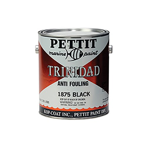 Pettit Paint Trinidad, Black, Gallon