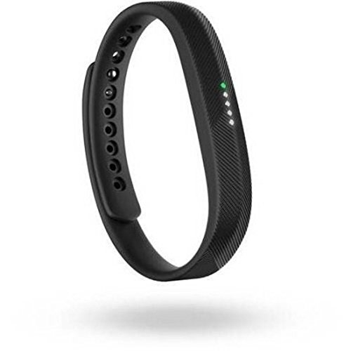 Fitbit FB403BK-WMT Flex 2 'Waterproof' Activity Tracker, Black