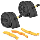 2 Pack Bike Tube with 3 Tire Levers