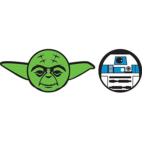 Car Antenna Topper Pencil - Disney Star Wars Antenna and Pencil Topper (Star Wars Yoda R2D2, One Size)