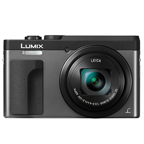 - PANASONIC LUMIX DC-ZS70S, 20.3 Megapixel, 4K Digital Camera, Touch Enabled 3-inch 180 Degree Flip-front Display, 30X LEICA DC VARIO-ELMAR Lens, WiFi (Silver)