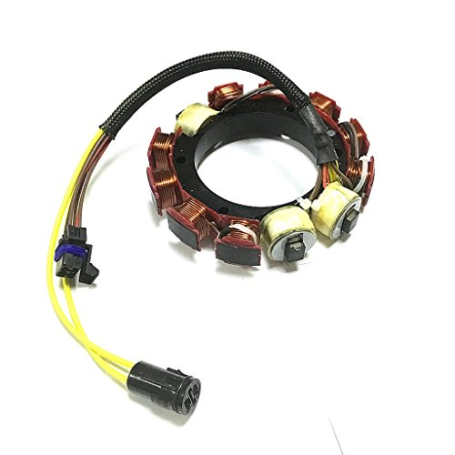 - JETUNIT STATOR ASSY FOR JOHNSON EVINRUDE OUTBOARD 35AMP 584109 584981 76375 173-4981