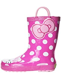 Western Chief Hello Kitty Cutie Rain Boot (Toddler/Little Kid/Big Kid),Pink,2 M US Little Kid