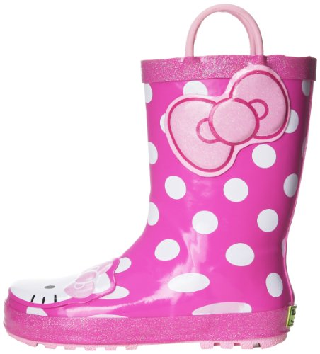 Western Chief Girls' Hello Kitty Waterproof Character Rain B