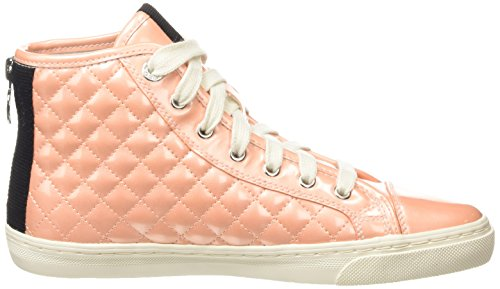 Club Pink A Peach New D High Geox Damen Top axTEx