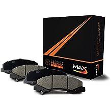 Max Brakes Carbon Ceramic Front Performance Disc Brake Pads [Fits 1994 - 2004 Ford Mustang SVT Cobra]