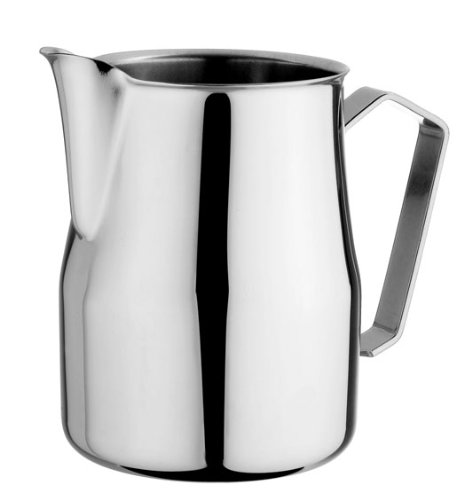Motta Europa Stainless Steel Frothing Pitcher, 33.8 Fluid Ounce by Metallurgica Motta