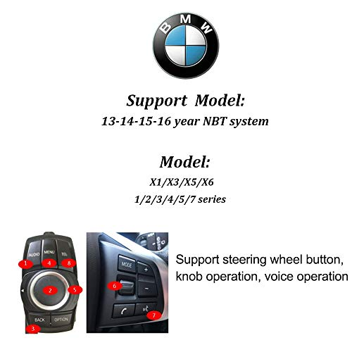 Carplay Android Auto Mirroring for BMW Mini/X1/1/2/3/4/5/7 Series NBT  System Original Factory Car Screen with Reverse Image