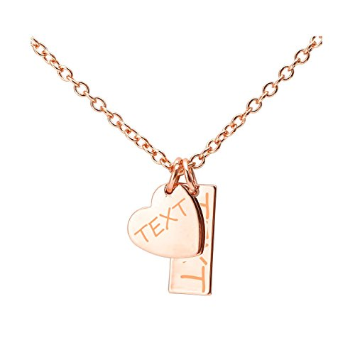 Top Plaza Personalized Initial Necklace