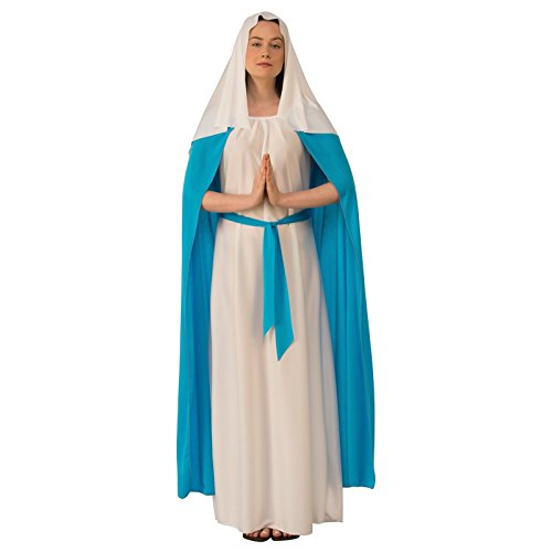 Rubie's Women's Adult Biblical Costume, Dark Blue Mary, As As Shown, Medium ()