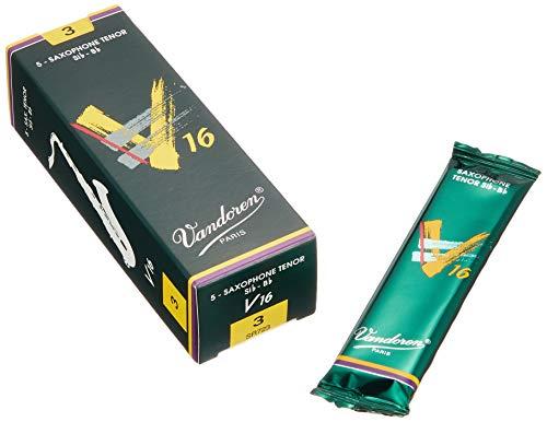 Vandoren SR723 Tenor Sax V16 Reeds Strength 3; Box of 5 from Vandoren