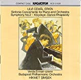 Erkin: Sinfonia Concertante for Piano & Orchestra / Symphony No. 2 / Dance Rhapsody