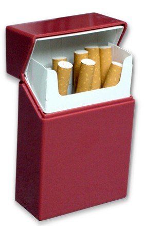 Hard Box Full Pack Cigarette Case (King Size) (Assorted Colors) #ch25  sc 1 st  Amazon.com : cigarette box size - Aboutintivar.Com