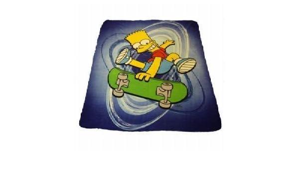 Oficial Kids manta de forro polar, diseño de Bart Simpson ...