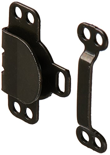 Dritz(R) Skirt Hook & Eye- 1/2 Inch Nickel & Black 12/Pk