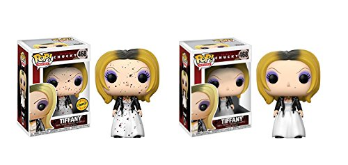 Funko POP! Movies Bride of Chucky: Tiffany LIMITED EDITION CHASE and Tiffany Toy Action Figure - 2 POP (Tiffany Limited Edition)