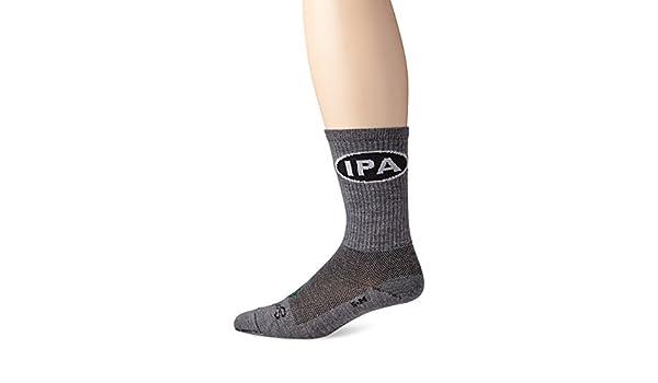 "Socks Wool Crew 6/"" IPA L//XL Cycling//Running SockGuy"
