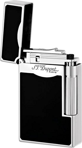 S.T. Dupont ''Le Grand'' Black Lacquer Special Flame Lighter / 023010