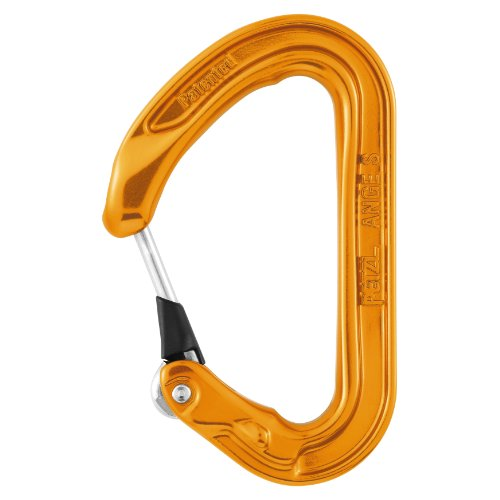 Petzl - ANGE S, Ultra-light, Compact Carabiner for Climbing