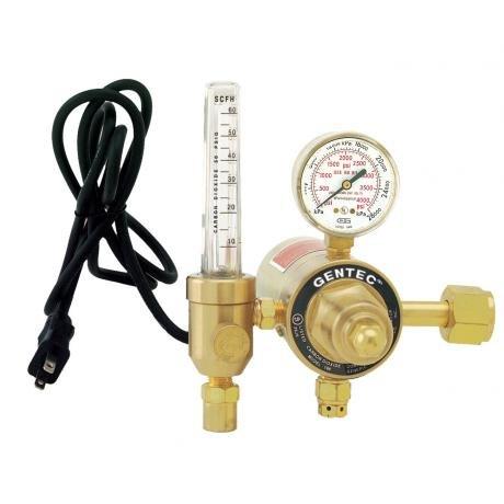 198CD-60 GENTEC Electrically Heated Hi-Flow CO2 Flowmeter...