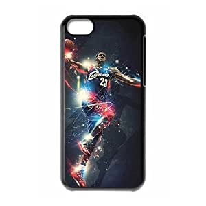 C-EUR Print LeBron James Pattern Hard Case for iPhone 5C