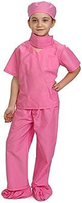 Dress up America Rosa niños médico Scrubs Disfraz niños Pretend ...