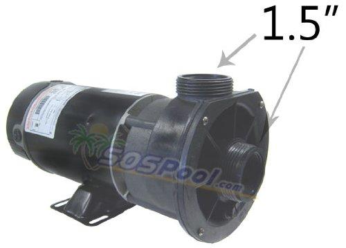 Waterway 1 Speed 2.0 HP 115V 230V Spa Pump 3410830-15 by Waterway