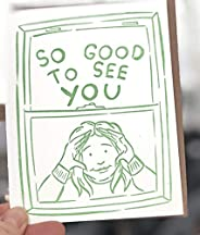 So Good to See You Social Distancing Card