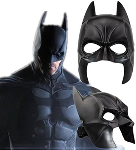 Collector's Edition Movie Batman Theme Mask Halloween Masks, Horror Resin mask Black ()
