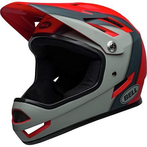- Bell Sanction Adult Full Face Bike Helmet (Presences Matte Crimson/Slate/Gray (2019), Large)
