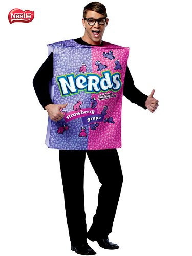 Nestle Nerds Box Costume - One Size - Chest Size -