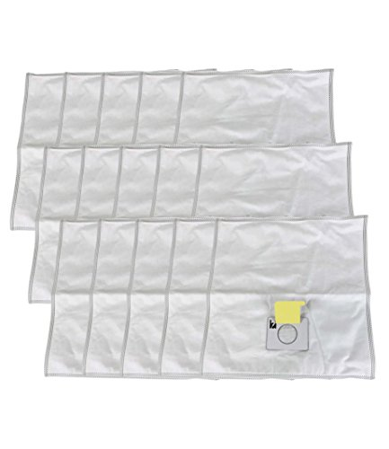 15 Replacements for Kenmore 5055 Cloth Bags Fit Canister Vacuums, Compatible With Part # 5055, 50557, 50558 & C-5, by Think ()