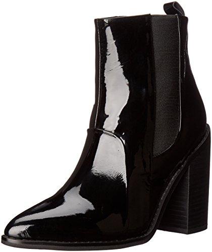 Sol Sana Women's Lori Boot Ankle Bootie - Black Patent - ...