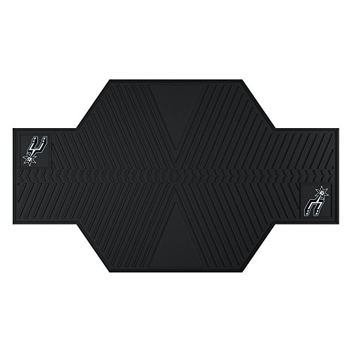 FANMATS 15395 NBA San Antonio Spurs Motorcycle Mat by Fanmats