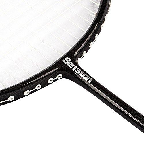 Senston WOVEN Full carbon Single High grade Badminton Racquet,Badminton Racket,Including Badminton Bag