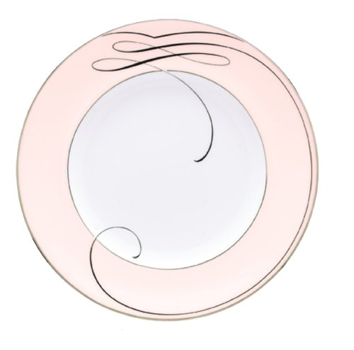 - Waterford Ballet Ribbon Pink Accent Plate, 9-Inch