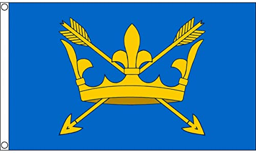 AZ FLAG Suffolk County Flag 3' x 5' - County of Suffolk - England Flags 90 x 150 cm - Banner 3x5 ft