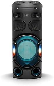Mini System One Box Torre Sony Muteki MHC-V42D com DVD, Conexão USB, HDMI, Iluminação 180º, Bluetooth, Control