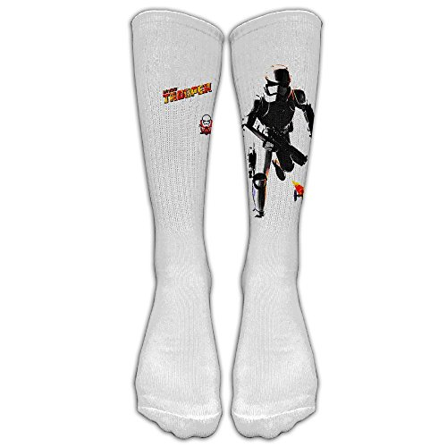 Star Wars - Stormtrooper XL Unisex Tube Sock Cool Crew Fashion Novelty Knee High Socks