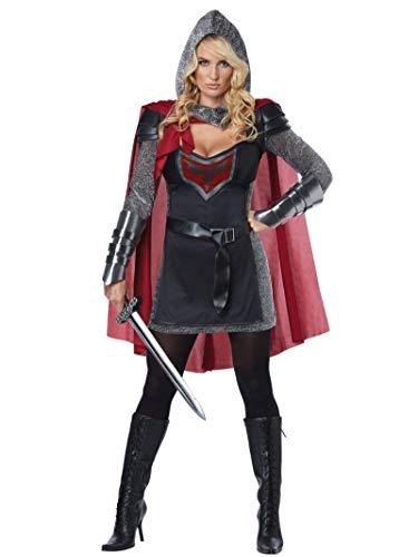 Ange Noir Costumes - California Costumes Women's Valorous Knight Costume,